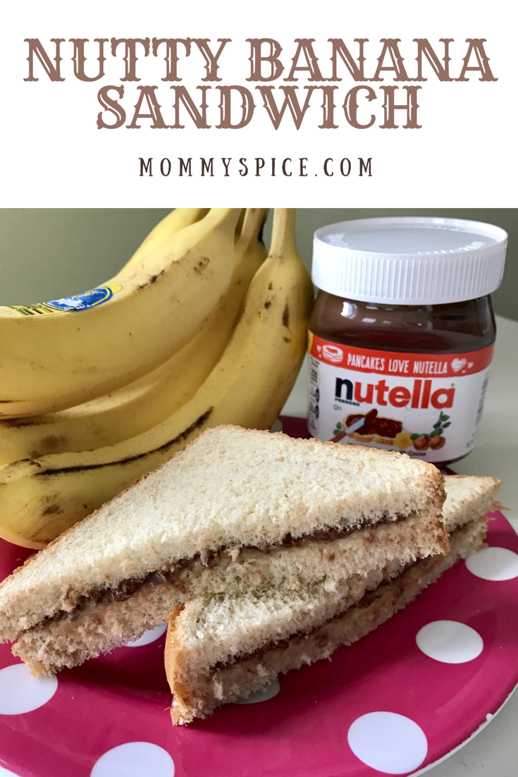Nutty Banana Sandwich