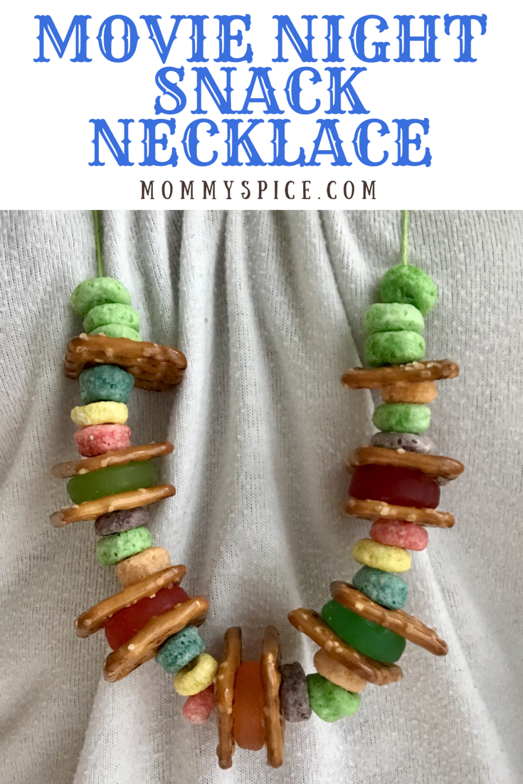 Movie Night Snack Necklace